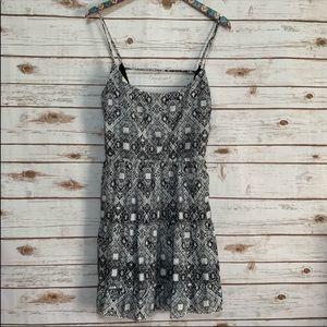 Gianni Bini spaghetti strap geo print dress